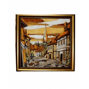 Картина из янтаря Мозаика