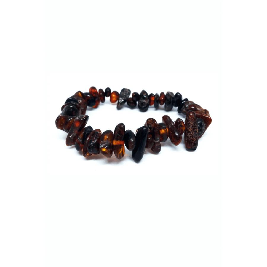 Декоративно — лечебный браслет из янтаря