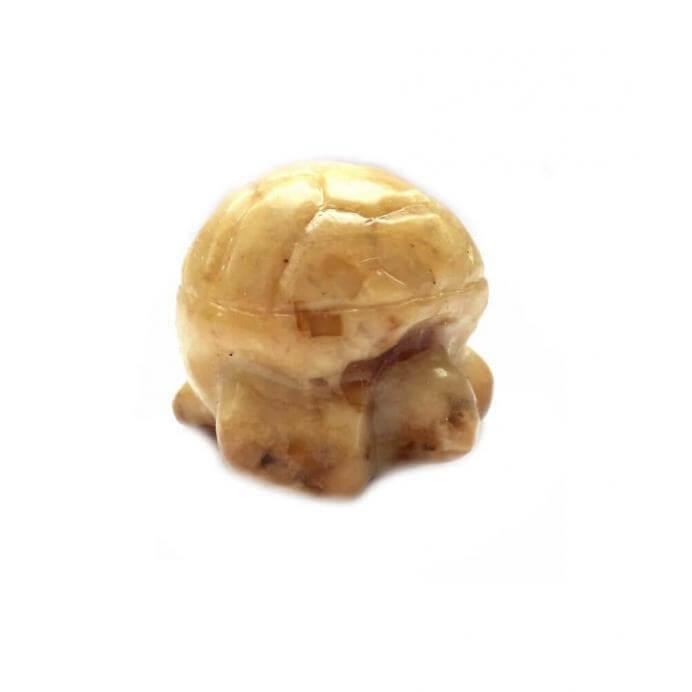 Черепаха янтарная оберег