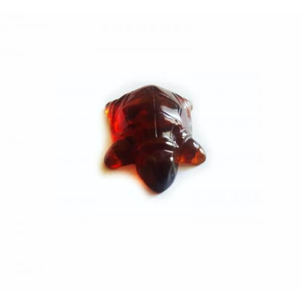 Сувенир черепашка из янтаря
