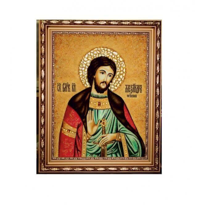 Икона Александр Невский