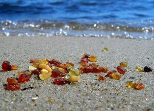 место добычи янтаря Балтийское море