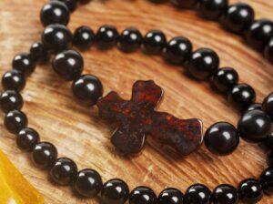 четки православные из вишневого янтаря