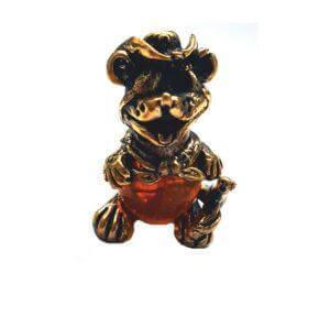 фигурка металическая крыса символ 2020
