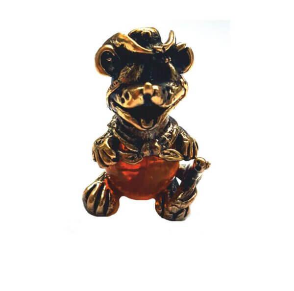 фигурка металлическая крыска символ 2020