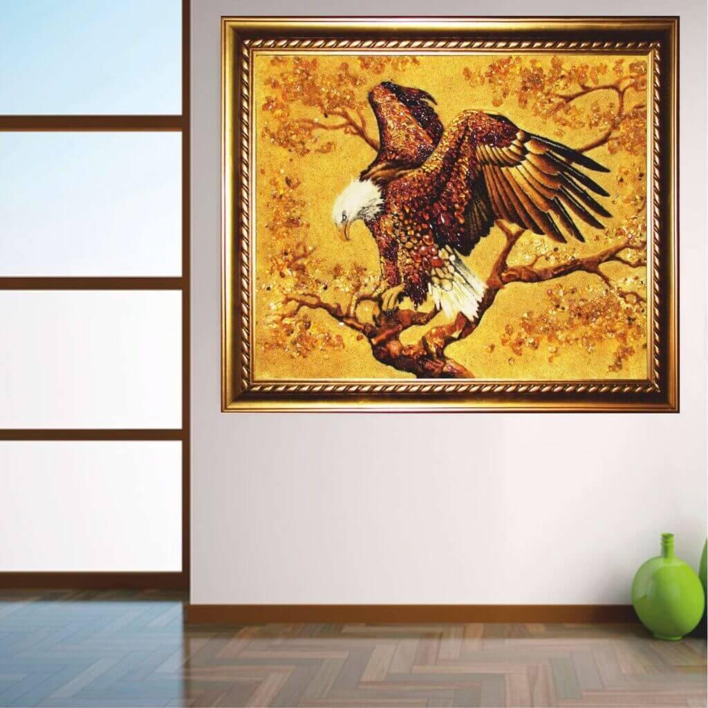 Какими янтарными картинами стоит украшать свой дом