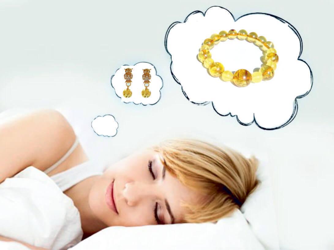 женщинам снится янтарь