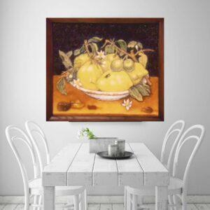 "картина из янтаря ""Лимоны"""