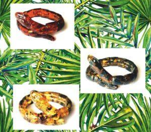 Змея из янтаря
