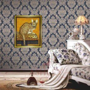 Бенгальская кошка из янтарной радуги