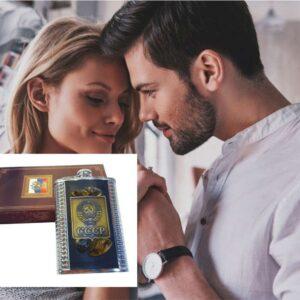 Фляжка с янтарем СССР