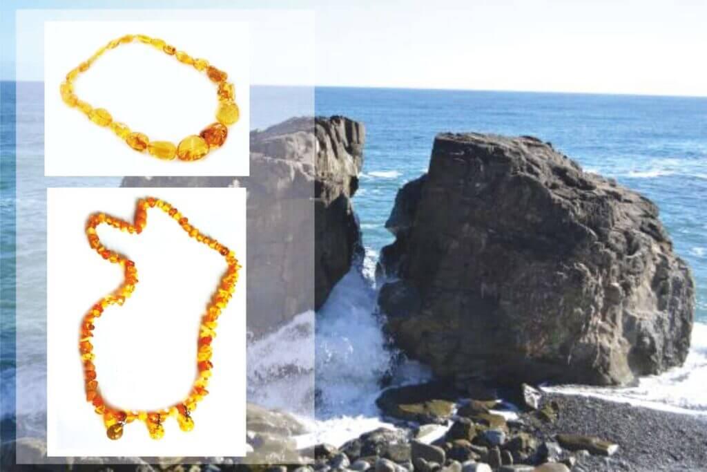 бусы из натурального калининградского (балтийского) янтаря
