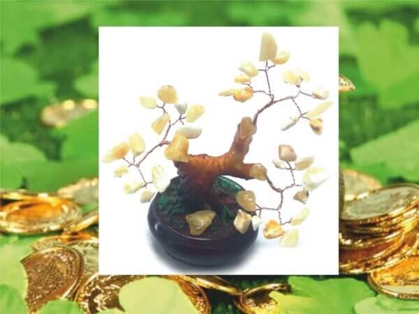 Бонсай из янтаря – сувенир на удачу и благополучие
