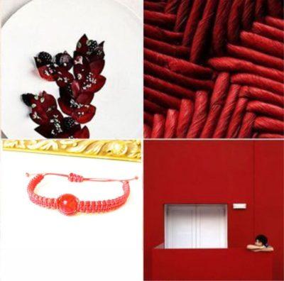 Шамбала с красным янтарем